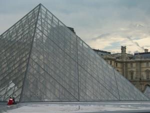 Louvre Museum Pyramide